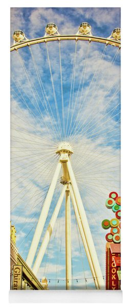 High Roller Wheel, Las Vegas Yoga Mat