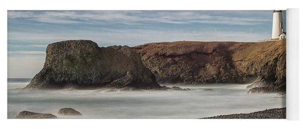 Yoga Mat featuring the photograph High Tide by Craig Leaper