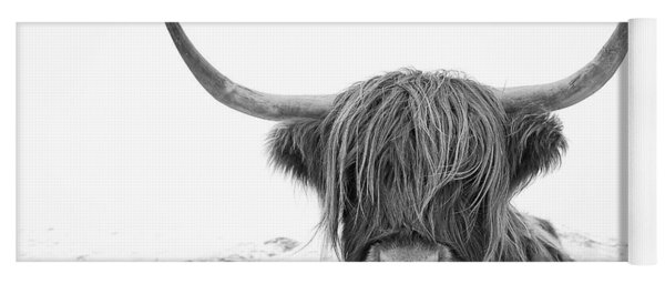 Highland Cow Mono Yoga Mat