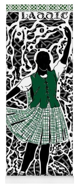 Highland Dancing Yoga Mat