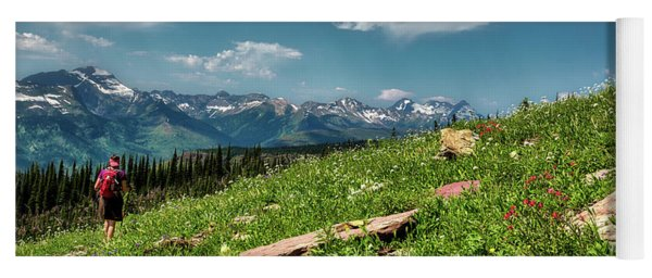 Highline Trail Adventure Yoga Mat