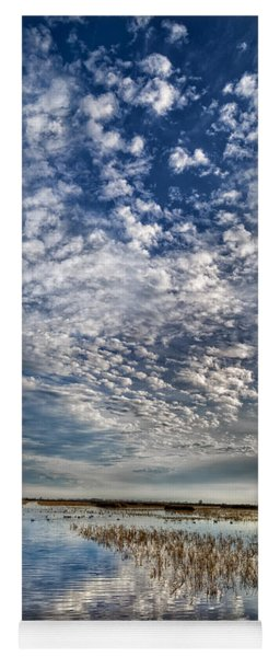 Highway In The Clouds Yoga Mat