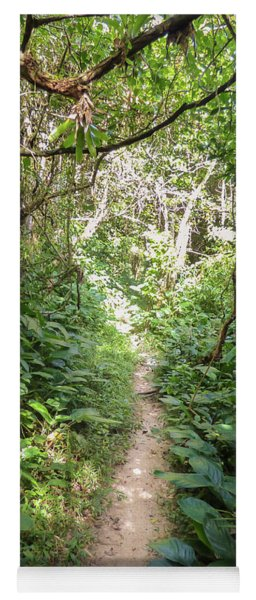 Hiking Path In The Atlantic Forest Yoga Mat