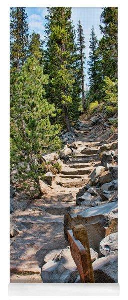 Hiking To Devils Postpile Yoga Mat