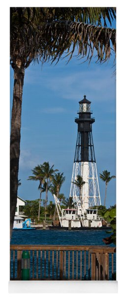 Hillsboro Inlet Lighthouse And Park Yoga Mat