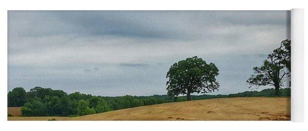 Hillside Tree 1 Yoga Mat