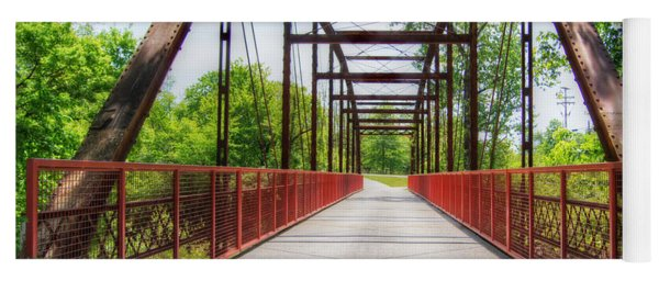 Hinkson Creek Bridge Yoga Mat