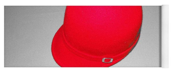 Hints Of Red - Hat Yoga Mat