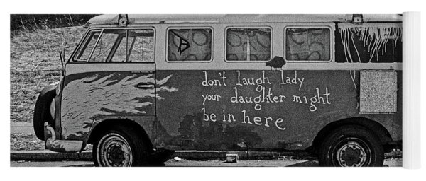 Hippie Van, San Francisco 1970's Yoga Mat