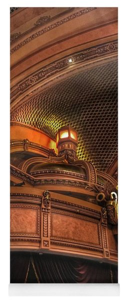Yoga Mat featuring the photograph Hippodrome Theatre Balcony - Baltimore by Marianna Mills