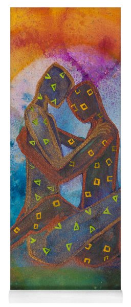 His Loves Embrace Divine Love Series No. 1007 Yoga Mat