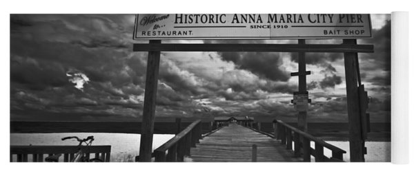 Historic Anna Maria City Pier 9177436 Yoga Mat