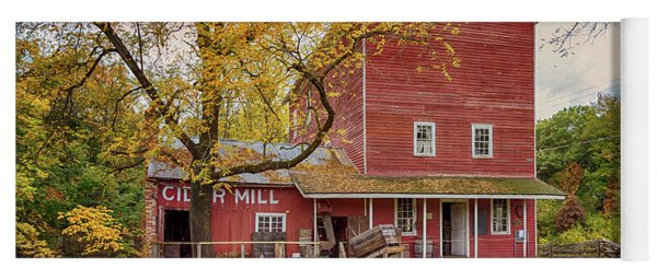 Yoga Mat featuring the photograph Historic Bowens Mills by Susan Rissi Tregoning