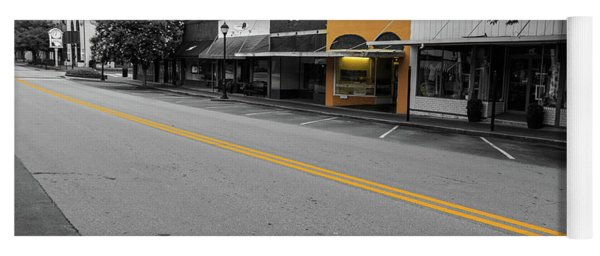 Historic Buford In Selective Color Yoga Mat