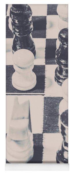 Historic Chess Nostalgia Yoga Mat