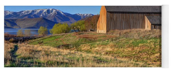 Historic Francis Tate Barn - Wasatch Mountains Yoga Mat