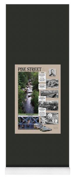 Historical Pine Street Bridges  Yoga Mat