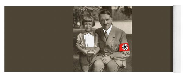 Hitler With A Child 1937 Color Added 2016 Yoga Mat