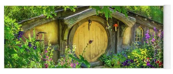 Hobbit Cottage Yoga Mat