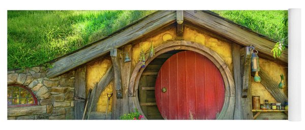 Hobbit House Yoga Mat
