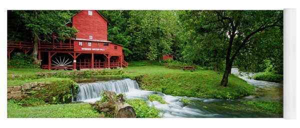 Hodgson Water Mill And Spring Yoga Mat