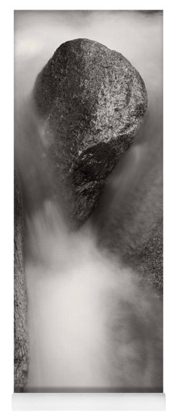 Hogback Creek And Granite Inyo Natl Forest Bw Yoga Mat