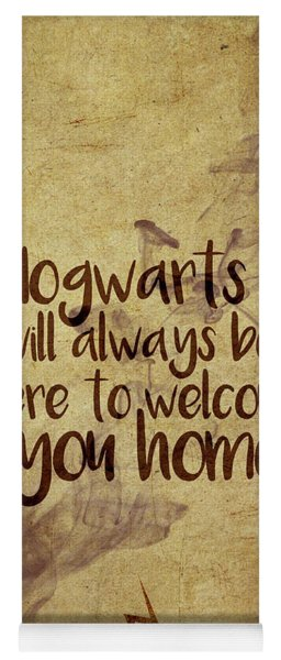 Hogwarts Is Home Yoga Mat