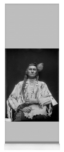 Holds His Enemy Son Of Pretty Eagle - Crow - 1910 Yoga Mat