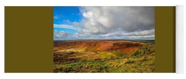 Hole Of Horcum, North York Mores, Yorkshire, United Kingdom Yoga Mat