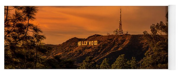 Hollywood Sunset Yoga Mat