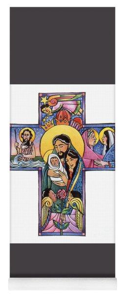 Holy Family Cross - Mmhfc Yoga Mat
