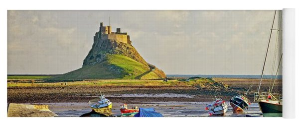 Holy Island And Lindisfarne Castle Yoga Mat