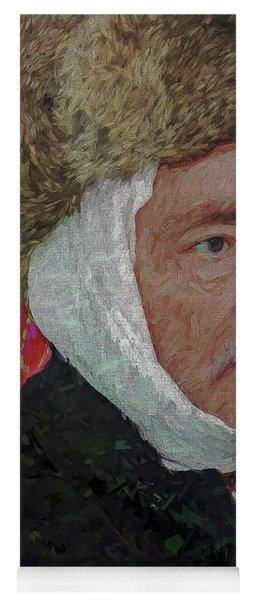 Homage To Van Gogh Selfie Yoga Mat