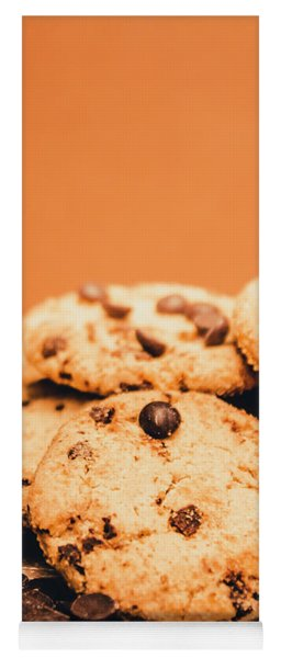 Home Baked Chocolate Biscuits Yoga Mat