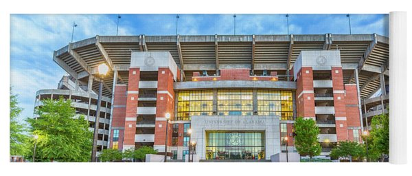 Home Of Champions -- Bryant-denny Stadium Yoga Mat