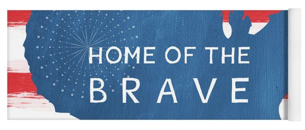 Home Of The Brave Yoga Mat