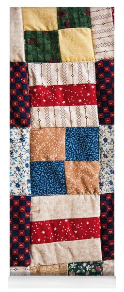 Yoga Mat featuring the photograph Homemade Quilt by Christopher Holmes