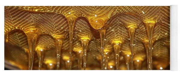 Honey Drip Yoga Mat