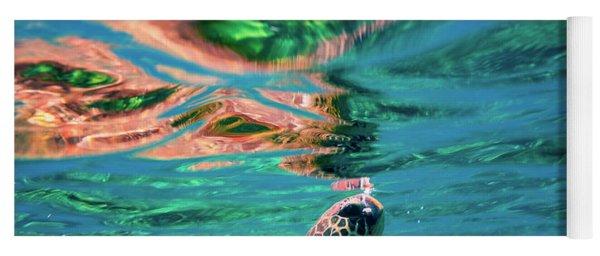 Hono Abstract Yoga Mat
