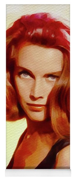 Honor Blackman, Movie Star Yoga Mat