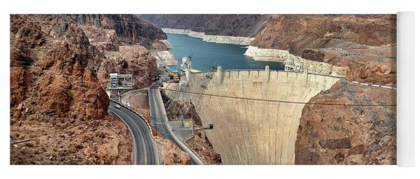 Hoover Dam Yoga Mat