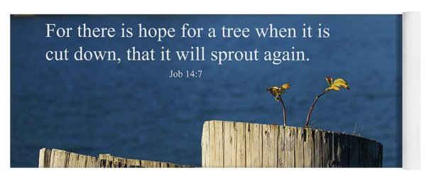 Hope For A Tree Yoga Mat
