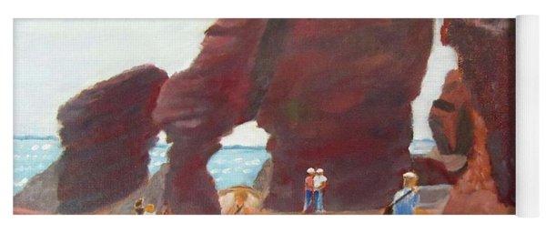 Hopewell Rocks2 Yoga Mat