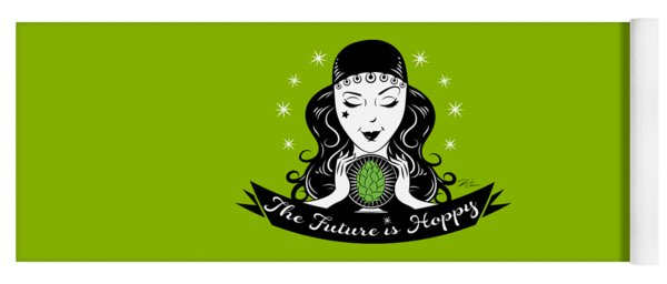 Hoppy Fortune Teller Yoga Mat