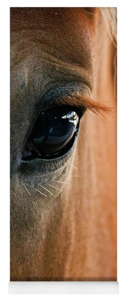Horse Eye Yoga Mat