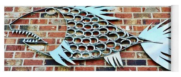 Fish Shoe  Yoga Mat
