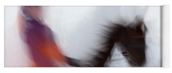 Horse Hunt #8153 Yoga Mat