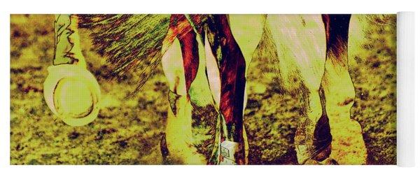 Horse Legs Yoga Mat