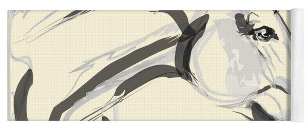 Horse - Lovely Yoga Mat