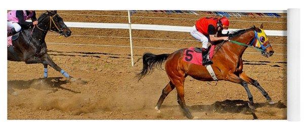 Horse Racing Yoga Mat